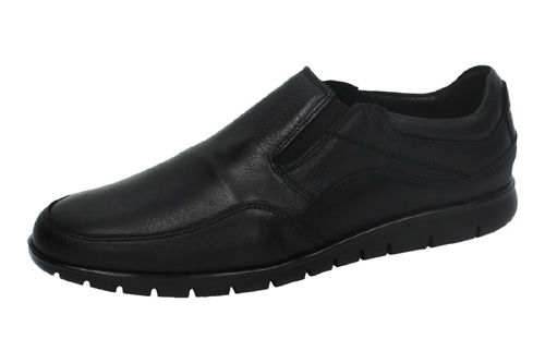 6102 MOCASINES DE PIEL color NEGRO
